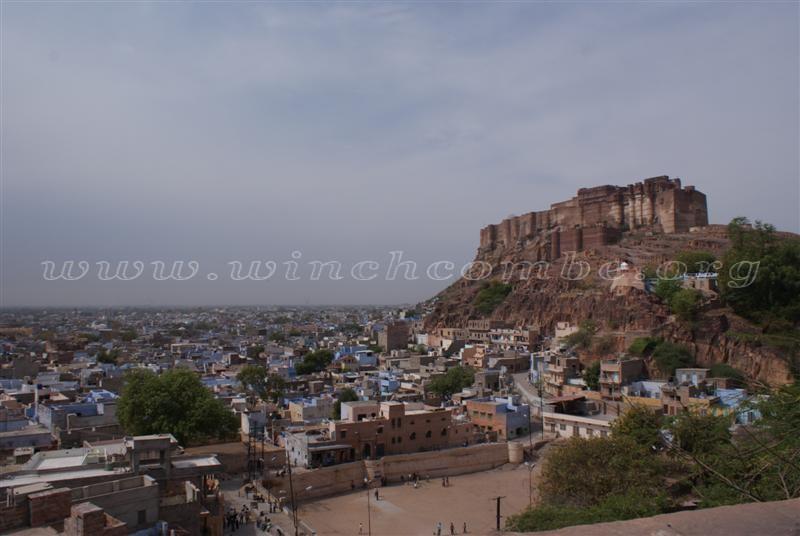 Mehrangarh Fort dominates Jodhpur's skyline