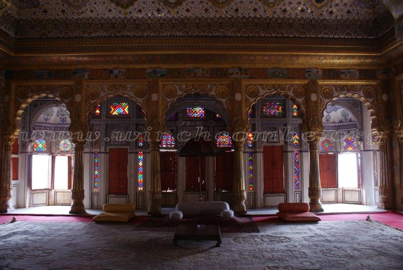 Mehrangarh Fort interior